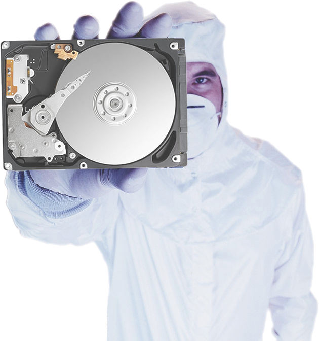 clean room drive 4 - Data Recovery