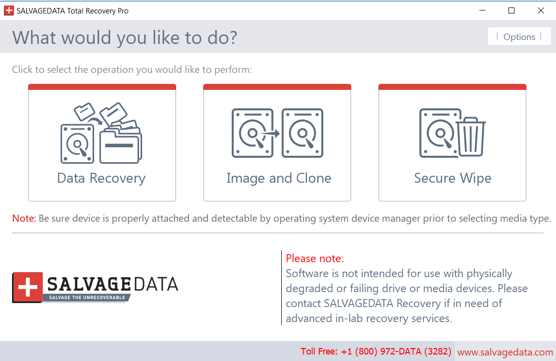 SALVAGEDATA Total Recovery PRO 1.0